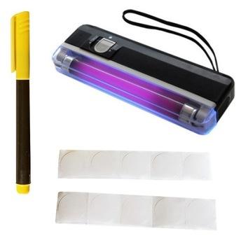 Bezpečnostný súbor: UV marker a UV bankoviek Tester