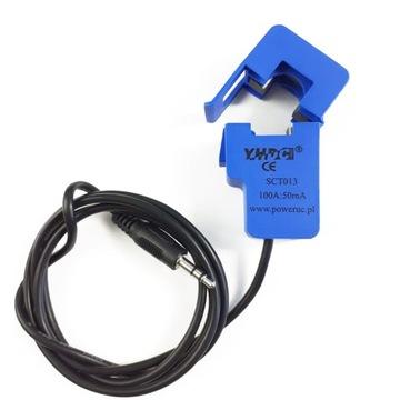 Senzor prúdu AC, 50A / 1V, 1%, SCT013-050