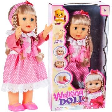 Chodiaca bábika BELINDA CHODÍ A SPIEVA 42cm, HOVORÍ