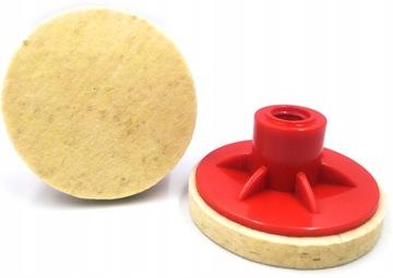 Celkovo plstená pulická disková jednotka Disk Disk 75mm M14