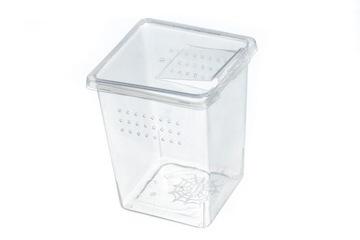 Kontajner pre chovné pavúky - 8x8x11 cm otvory