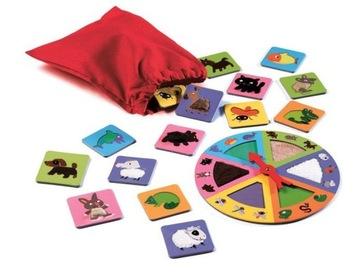 Hra Vzdelávacia Lotto Touch Djeco