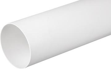 Okrúhle vetracie potrubie FI100 0,5m
