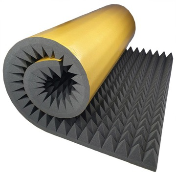 Samolepiaca akustická pena pyramída 8 cm