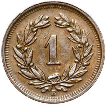 + Švajčiarsko - 1 Rappen 1941 B - Stav!