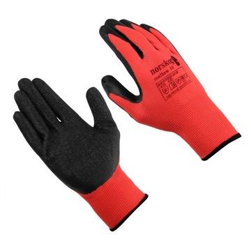 Rukavice Pracovné rukavice R10 Latex !! 10PR!