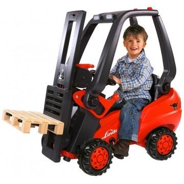 LINDE Vysokozdvižný vozík NA PEDÁLY do 50 kg Pre deti