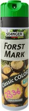 Geodetická farba Stanger Forst Mark Green Fluo