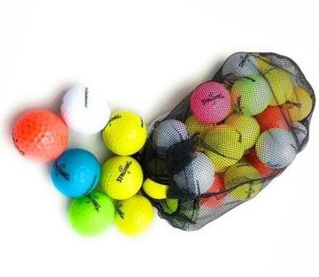 Golfové loptičky Spalding Rainbow Colors 24 ks