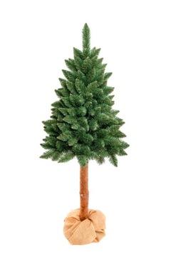 Kaukazská BOROVICA 160 cm Umelý vianočný stromček na kmeni