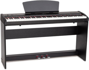Digitálne klavírne prenosné M-Tunes MTP-9BK Black