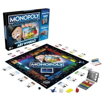 Hra Monopoly Super Electronic Banking Poľsko E8978