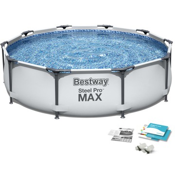 Záhradný bazénový rám 305x76 bestway set 4in1