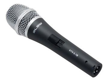 Dynamický mikrofón fúk káblový 5m karaoke
