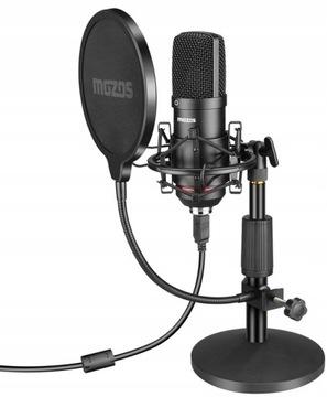 USB kapacitný mikrofón Mozos MKIT-900PRO GAMER