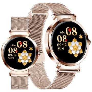 SmartWatch Dámske hodinky pre iPhone Xiaomi Realme