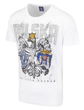 Pánske tričko Lech Poznan Poľsko Biała L