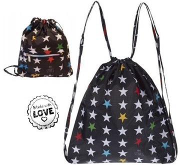 MY BAG'S STYLISH XS MY STAR'S BLACK BATOH