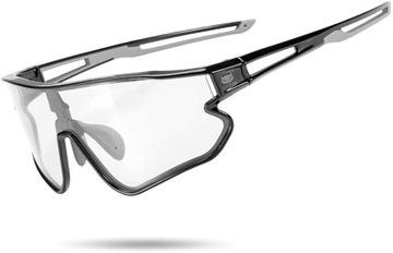 Fotochromné slnečné okuliare cateye pre bicykle rockbros