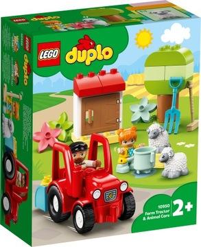 Lego Duplo Traktor a hospodárske zvieratá 10950