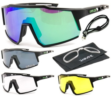 Fotoctromické slnečné okuliare na bicykli