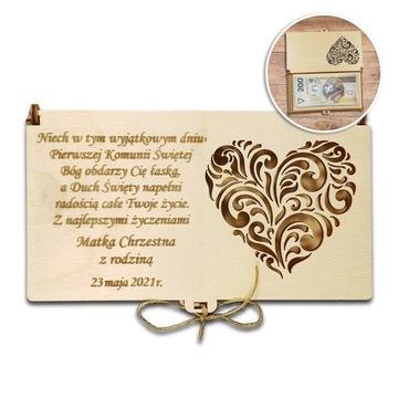 Peňažná schránka. Souvenír spoločenstva vianočných otvorených prác