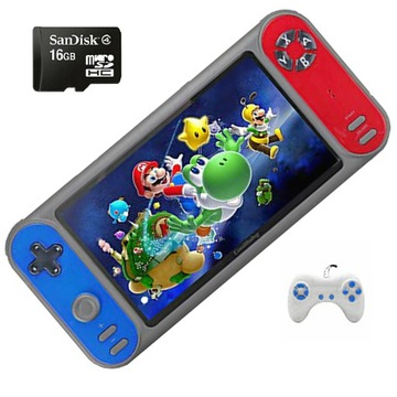 Hra Console Screen 7 Inches 3000 Hry 16 GB Pad