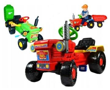 Masívny pedálový pohon traktora + súprava prívesu