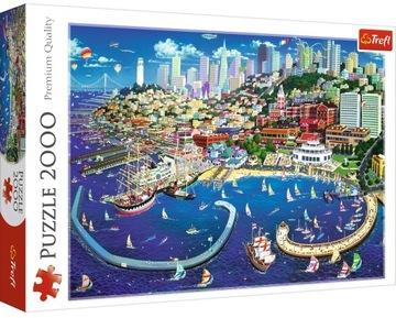San Francisco Bay Puzzle 2000 Elem. TREFL 27107