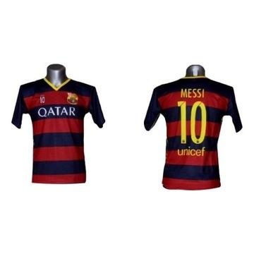 Barcelona Messi Detské futbalové tričko 140