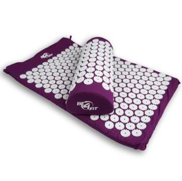 Zdravotná rohož pre akupresúry s hrotmi + vankúš