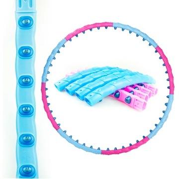 Chudnutie HulaHop koleso skladanie Hula Hoop masáž
