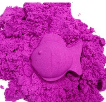 Kinetické piesočné piesok 7 magické farby