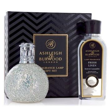 Vonná lampa Ashleigh Set Pearl + ľanová tekutina