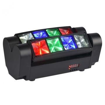 Light4me Spider MKII Turbo LED efekt 8x3w RGBW