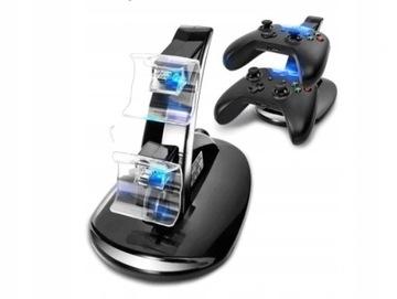 Nabíjačka pre Xbox One podložky. Zaťaženie 2 podložky