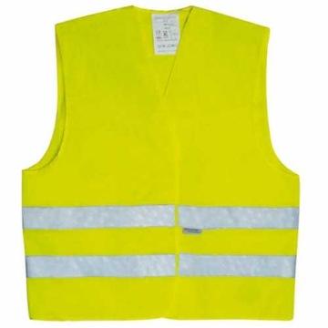 Reflexná vesta Upozornenie Yellow CE