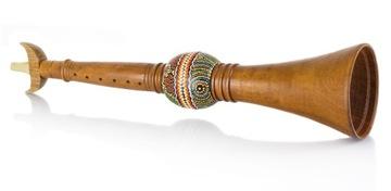 Etnický nástroj indickej hadice