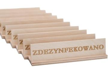 Dezinfikovaná - 10x drevená doska - ow