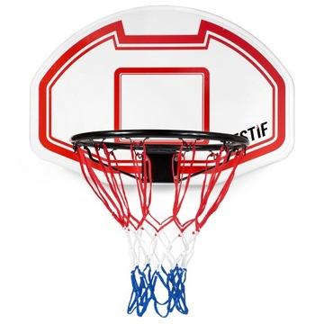 Basketbal Board Bin Shield + RIM. Nastaviť