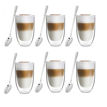SKLÁ Z LATTE kávy, termálny čaj + LYŽICE