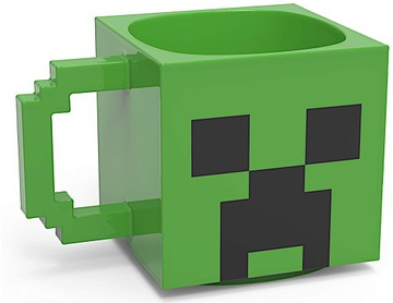 3D minecraft creeper licencovaný 700ml