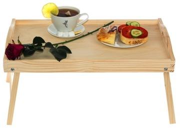 Raňajkový stôl pre posteľ pod notebookovou zásobníkom Poľsko