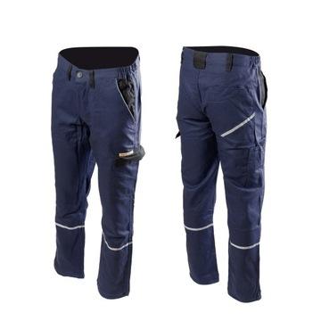 Ochranné pracovné nohavice Monterskie bavlna 100%