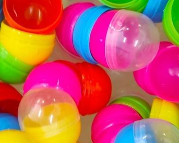 Blank Capsule 55mm Mix Farby 100ks Ball Ball