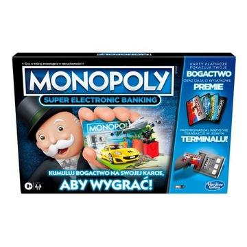 Hasbro Monopoly hra Super Electronic Banking PL