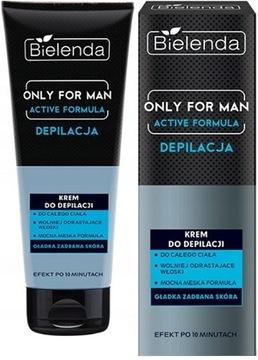 Bielenda Vanity Muži Opätovné odstraňovanie krém pre mužov