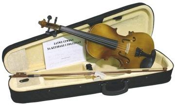 Violin 4/4 Symptomet Case Notes a Rosin
