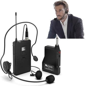 Bezdrôtový mikrofón na kravate
