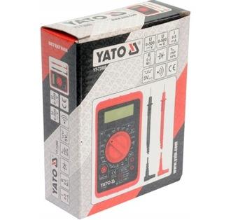 YATO Digitálny merací univerzálny bzučiak